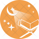Holy Quran Moon Icon