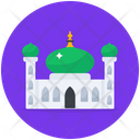 Holy Mosque Mosque Worship Place Icon