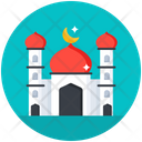 Holy Place Mosque Dome Worship Place Icon