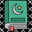 Holy Quran Koran Religious Book Icon