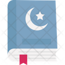 Holy Quran Koran Religious Book Icon