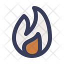 Holy Spirit Fire Christianity Icon