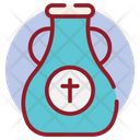Holy Water Blessed Water Water Jar Icon