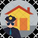 Home Safety Crime Icon