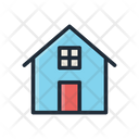 Home House Residential Building Icon