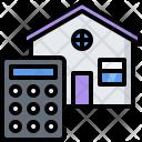Calculator Building Architecture Icon