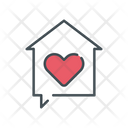 Home Home Love House Love Icon