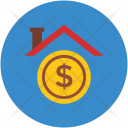 Home Dollar Sign Icon