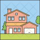 Suburban House Icon