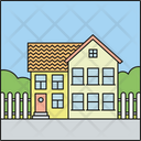 Detached House Icon