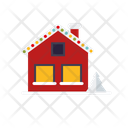 Home House Decorated House Icon
