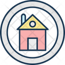 Home House Villa Icon