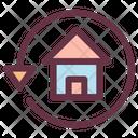 Return Estate Back Icon
