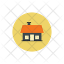 Home In Circle Home Web Home Icon
