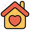 House Love Heart Icon