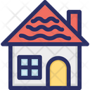Gingerbread Home House Icon