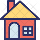 Cabin Cottage Dwellings Icon