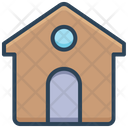 E Commerce Shopping House Icon