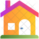 Home House Winter Icon