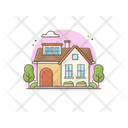 Residential Building House Home Icon