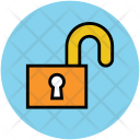 Home Lock Unlock Icon