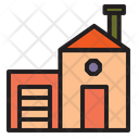 House Building Office Icon