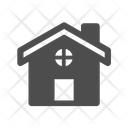 Home House Winter House Icon