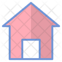 Home House User Interface Icon