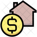 Home Money Dollar Icon