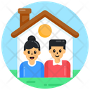 Home House Family Home Icon