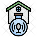 Home Voice Assistant Siri Icon