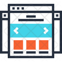 Home Landing Layout Icon