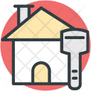 Home Key Sign Icon
