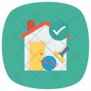 Home Building Estate Icon
