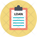 Home Loan Document Icon