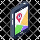 Mobile Location Gps App Location App Icon