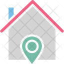 Home Address Finder Home Location Housing Area Icon