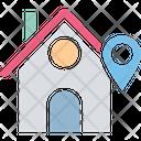 Home address finder Icon