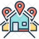 Address Location Locale Icon