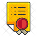 Document Home Agreement Icon