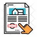 Home Agreement Document Icon
