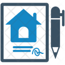 Home Agreement Agreement Contract Icon