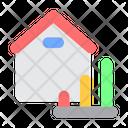 Home Analytics Property Analytics Real Estate Analytics Icon