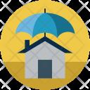 Home and umbrella Icon