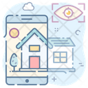 Smart Home App Smart Technology Wireless Technology Icon