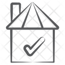 Home Approval House Verification Approved Accommodation Icon