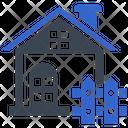 Area Border Fence Icon