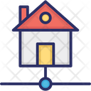 Home Area Network Home Network Networking Icon