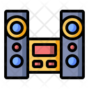Home audio system Icon
