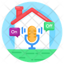 Voice Home Automation Smart Home Smart House Icon